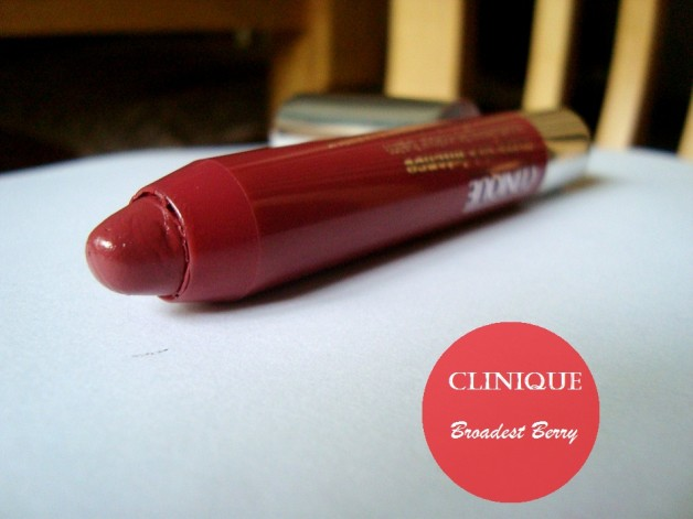 Clinique Chubby Stick Intense Broadest Berry Review Swatches