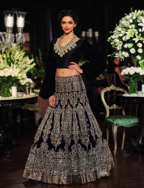 Deepika Padukone PCJ Manish Malhotra Delhi Couture Week 2013