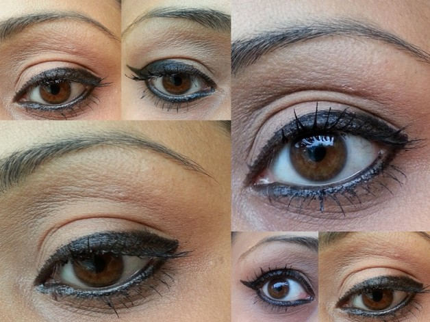EOTD Rimmel Scandal eyes Waterproof Kohl Eyeliner swatch