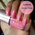 NOTD: Lakme 9 to 5 Long Wear Nail Color Candy Power