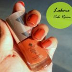 Lakme 9-to-5 Long Wear Nail Color Oak Room Review and Swatch