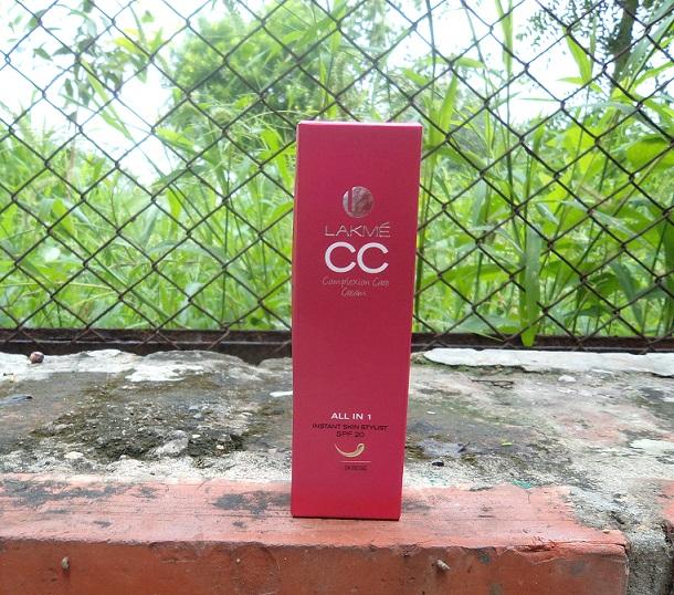 lakme cc complexion care cream beige  review