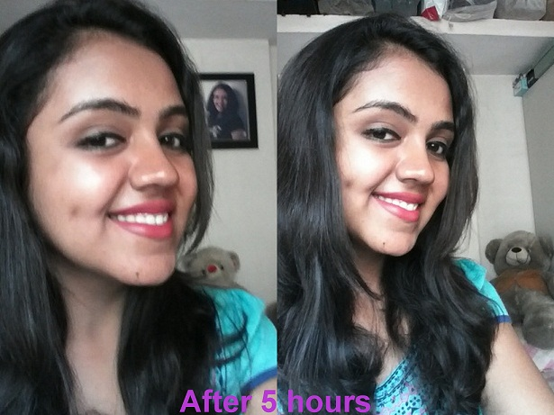 Lakme Nine To Five Flawless Makeup Foundation Face Swatch