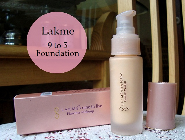 Lakme Nine To Five Flawless Makeup Foundation Review Swatches