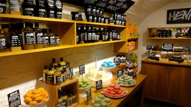 lush fresh handmade cosmetics store photo India