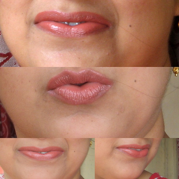 Mac Glamour Era Mineralize Rich Lipstick Swatches on lips