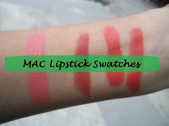 mac red lipsticks swatches