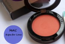 mac ripe for love blush temperature rising collection review swatches