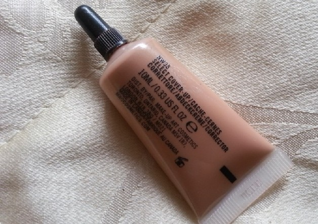 MAC Select Cover Up Concealer Reviews