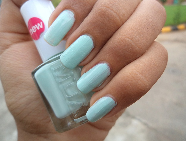 mua nail polish pistachio ice cream