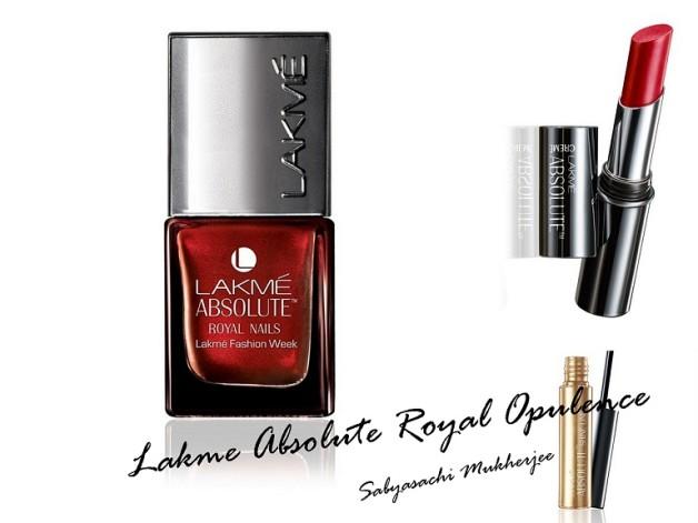 Lakme Absolute Royal Opulence Collection by Sabyasachi Mukherjee