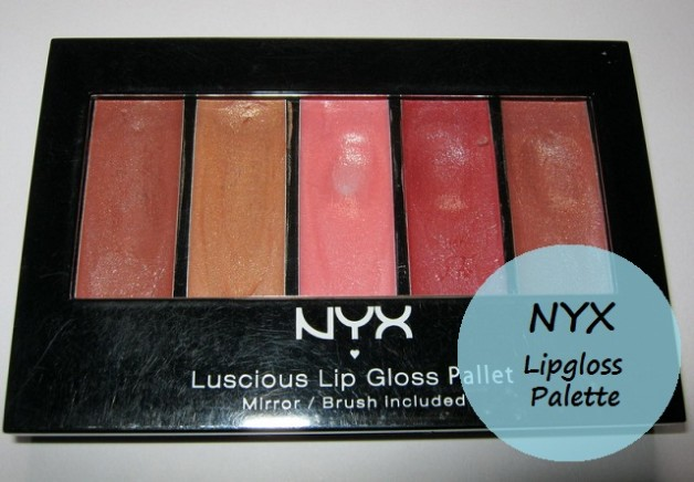 nyx luscious lipgloss palette the naturals review swatches
