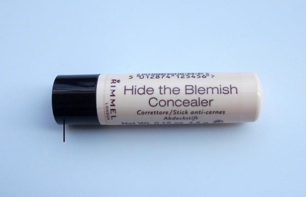rimmel hide the blemish concealer review