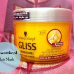 Hair Care for Relaxed Hair: Schwarzkopf Gliss Hair Repair Anti Split Ends Mask