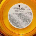 schwarzkopf gliss hair repair mask ingredients