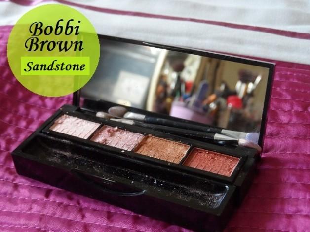 Bobbi Brown Eyeshadow Palette Sandstone Review