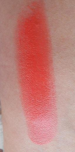 Bourjois Shine Edition Lipstick 1,2,3 Soleil Swatch