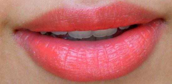 Bourjois Shine Edition Lipstick 1,2,3 Soleil lip Swatch