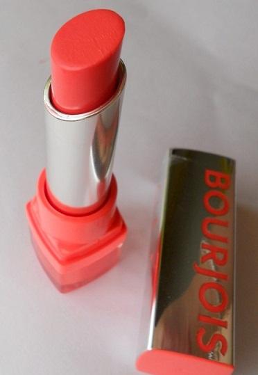Bourjois Shine Edition Lipstick 1,2,3 Soleil Review