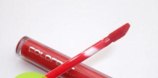 Colorbar True Gloss Lip Gloss Nectar Orange Review Swatch