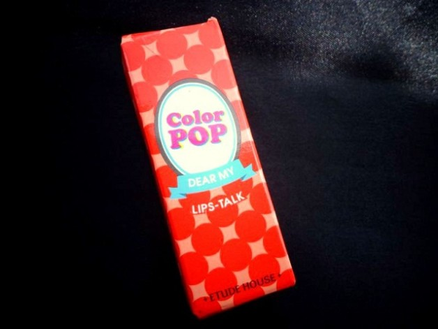Etude House Dear My Blooming Lips Talk Color Pop Lipstick OR215