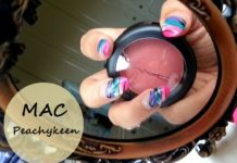 MAC Peachykeen Sheertone Shimmer Blush Review