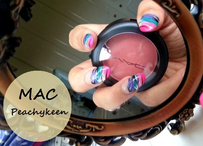 MAC Peachykeen Sheertone Shimmer Blush Review
