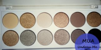 MUA Undress me too naked eyeshadow palette