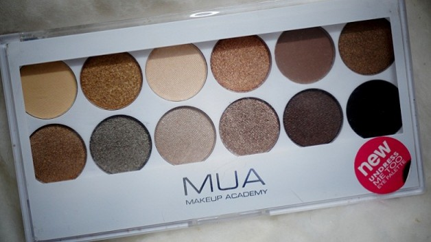 MUA Undress Me Too Eyeshadow Palette photo