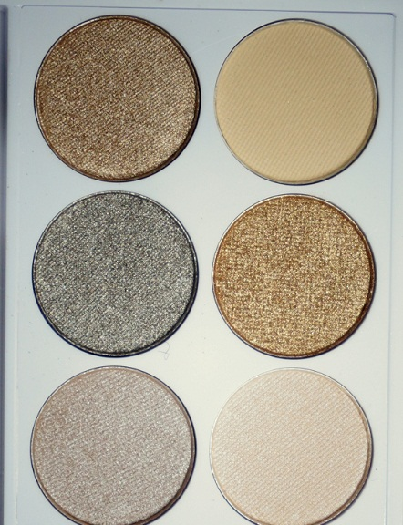 MUA Undress Me Too Eyeshadow Palette shades
