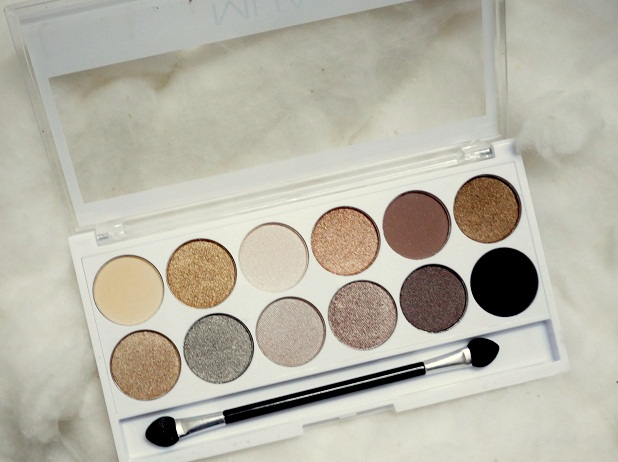 MUA Undress me too naked eyeshadow palette review