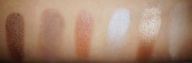 MUA Undress me too naked eyeshadow palette swatches