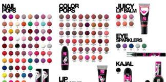 elle 18 makeup shade card