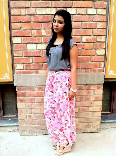 floral palazzo pants
