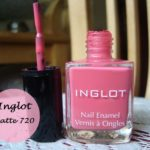 Inglot Matte Collection Nail Enamel 720 Swatches and Review