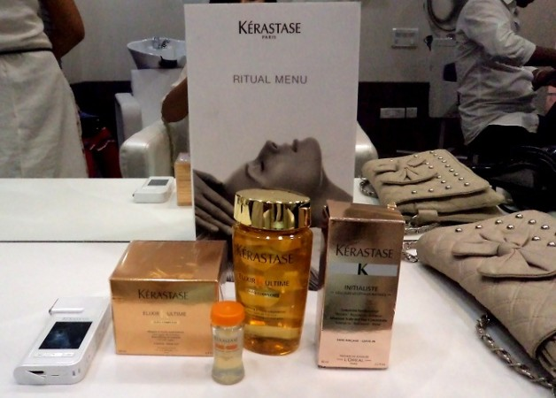 kerastase hair spa products salon used
