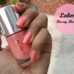NOTD: Lakme 9 to 5 Long Wear Nail Color Rosey Monday