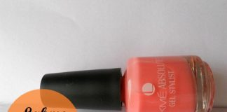 lakme absolute gel stylist nail color pink champagne review