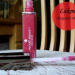 Lakme Absolute Gloss Stylist Burgundy Burn Swatches, Review and FOTD