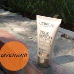Win L'Oreal Paris True Match BB Cream – Giveaway!