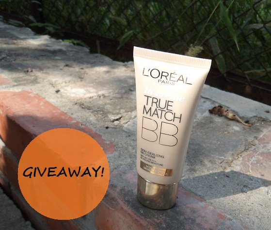 loreal bb cream giveaway on blog