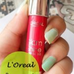 L'oreal Paris Glam Shine Balmy Gloss (Lip Crayon) 909 Pomegranate Punch – Swatches and Review