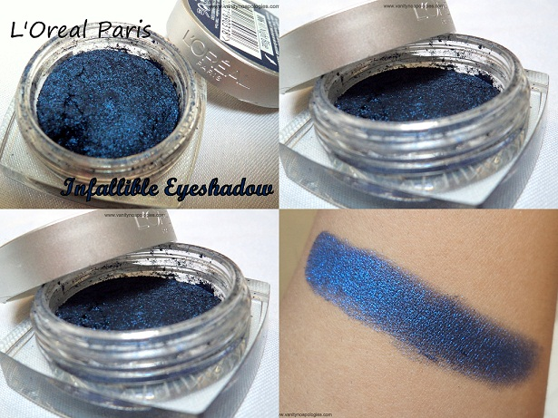 l'oreal paris infallible eyeshadow all night blue buy online