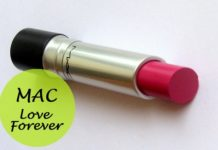 mac pro longwear lipcreme love forever review swatches