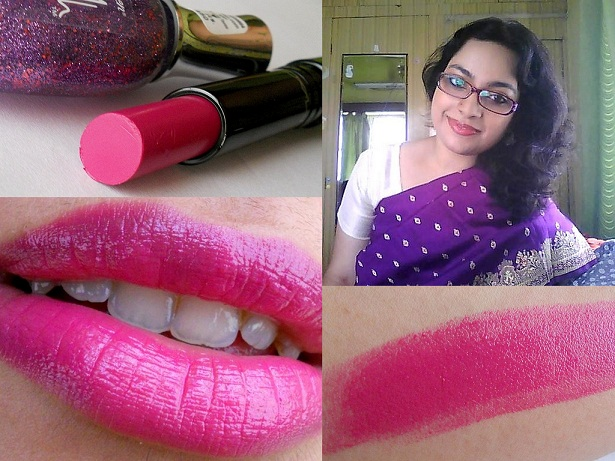 MAC Zen Rose Sheen Supreme Lipstick Swatches, Review and FOTD