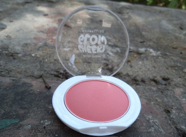 maybelline cheeky glow blush fresh coral photo