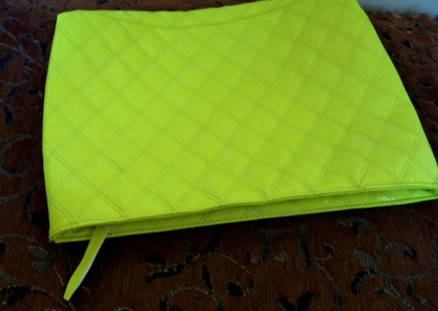neon green bag do it yourself
