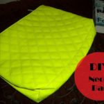 DIY Project: Neon Green Handbag!