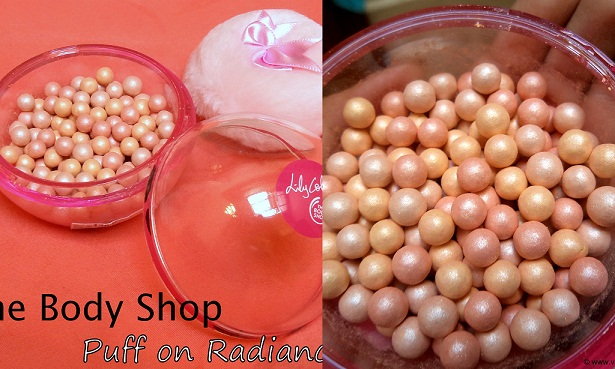 the body shop puff on radiance pearls buy online