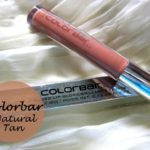 Colorbar True Gloss Lipgloss Natural Tan Swatches, Review and FOTD